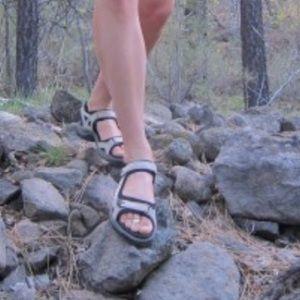 Ecco Yucatán Sandals Size 35